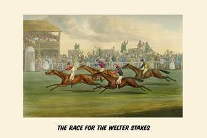 Race of the Welter Stakes by Henry Thomas Alken