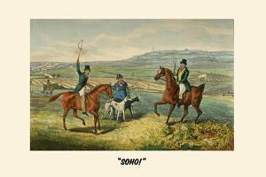Soho by Henry Thomas Alken
