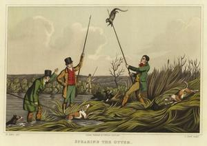 Spearing the Otter by Henry Thomas Alken