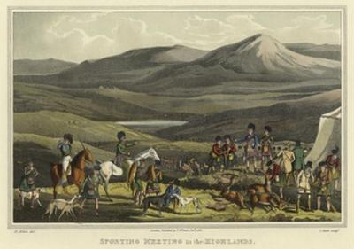 Sporting Meeting in the Highlands by Henry Thomas Alken