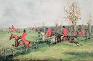 Sporting Scene by Henry Thomas Alken