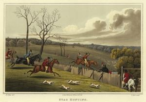 Stag Hunting by Henry Thomas Alken