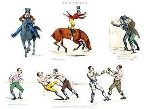 Symptoms of Being Amused, 1822 by Henry Thomas Alken