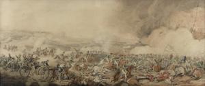 The Battle of Waterloo, 18 June 1815 by Henry Thomas Alken