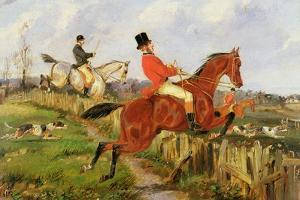 The Chase by Henry Thomas Alken