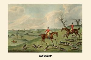 The Check by Henry Thomas Alken
