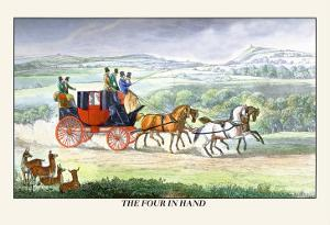 The Four in Hand by Henry Thomas Alken