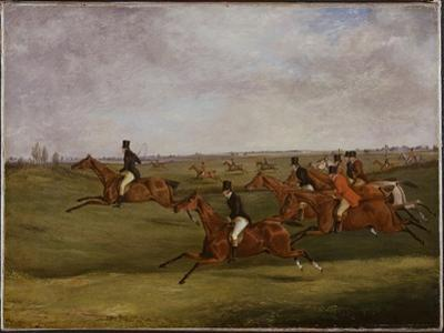 The Grand Leicestershire Steeplechase, March 12Th, 1829: Going the Pace by Henry Thomas Alken