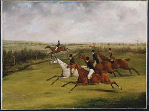 The Grand Leicestershire Steeplechase, March 12Th, 1829: the Field Becomes Select by Henry Thomas Alken