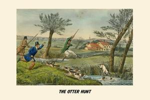 The Otter Hunt by Henry Thomas Alken