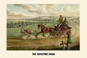 The Shooting Drag by Henry Thomas Alken