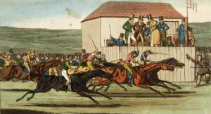 Tom and Bob Winning the Long Odds from a Knowing One by Henry Thomas Alken