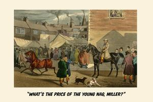 What's the Price of the Young Nag, Miller? by Henry Thomas Alken