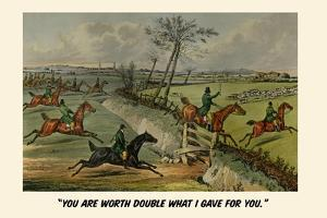 You are Worth Double What I Gave You by Henry Thomas Alken