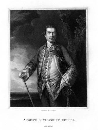 Augustus Keppel, 1st Viscount Keppel, British Admiral