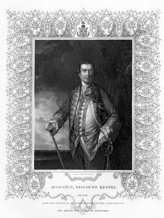 Augustus Keppel, Viscount Keppel, (1725-178), 19th Century