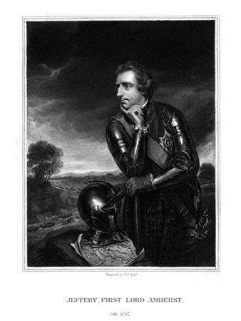 Jeffery Amherst, 1st Baron Amherst, Commander-In-Chief of the British Army