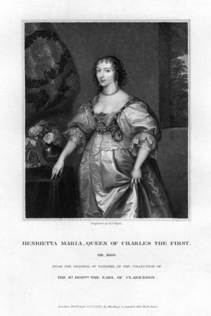 Queen Henrietta Maria, Queen Consort of Charles I