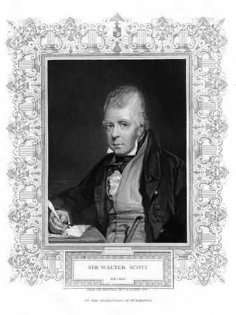 Sir Walter Scott, 1st Baronet, Prolific Scottish Historical Novelist and Poet, 19th Century