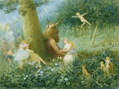 A Midsummer Night's Dream, 1895 (W/C with Bodycolour on Paper)