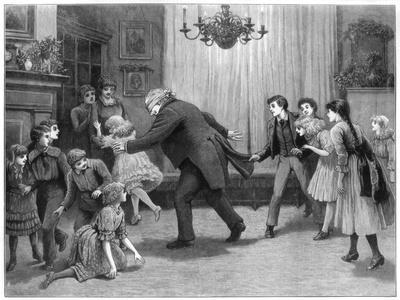 A Romp after Dinner, 1887