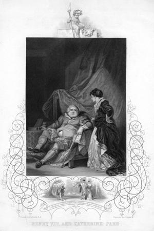 Henry VIII and Catherine Parr by J Rogers
