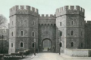 Henry VIII's Gateway, Windsor Castle