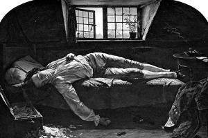 The Death of Chatterton, 1856 by Henry Wallis