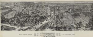 Bird's-Eye View of Oxford, 1894 by Henry William Brewer