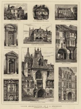 House Architecture by Henry William Brewer