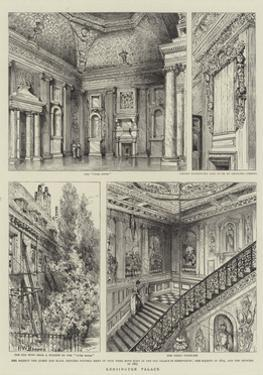 Kensington Palace by Henry William Brewer