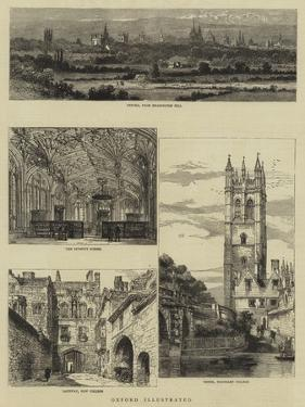 Oxford Illustrated by Henry William Brewer