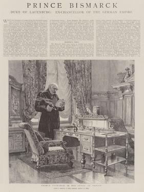 Prince Bismarck by Henry William Brewer
