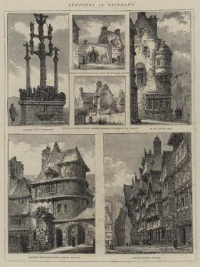 Sketches in Brittany by Henry William Brewer