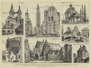 Sketches in Swabia by Henry William Brewer