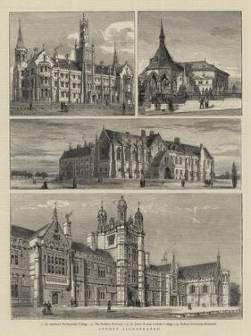 Sydney Illustrated by Henry William Brewer
