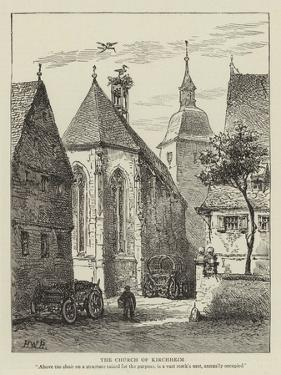 The Church of Kirchheim by Henry William Brewer