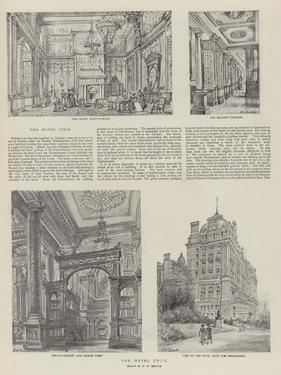 The Hotel Cecil by Henry William Brewer