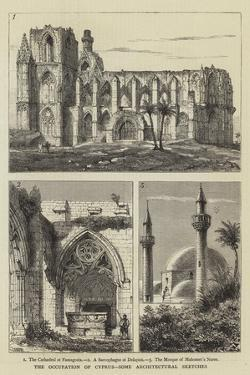 The Occupation of Cyprus, Some Architectural Sketches by Henry William Brewer