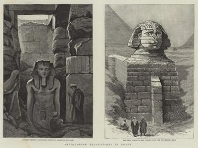 Antiquarian Excavations in Egypt