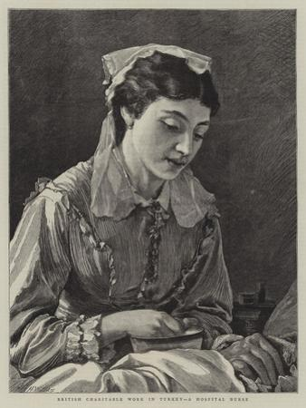 British Charitable Work in Turkey, a Hospital Nurse