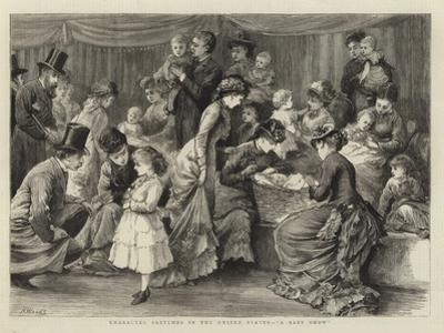 Character Sketches in the United States, A Baby Show