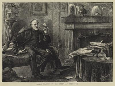 Joseph Mazzini in His Study at Brompton