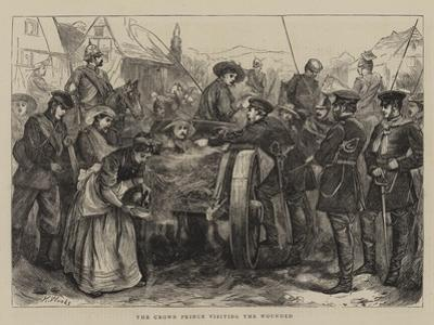 The Crown Prince Visiting the Wounded
