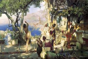 Sword Dance, 1881 by Henryk Siemiradzki