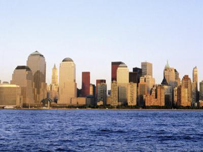 NYC Skyline Without World Trade Center