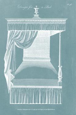 Design for a Bed IV by Hepplewhite