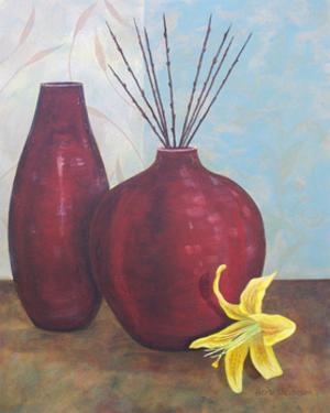 Crimson Pursuit II by Herb Dickinson