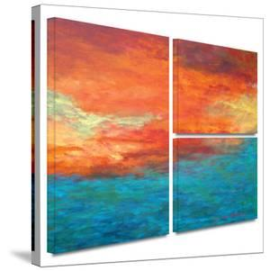 Lake Reflections II Gallery-Wrapped Canvas by Herb Dickinson