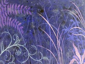 Mystical II Blue by Herb Dickinson